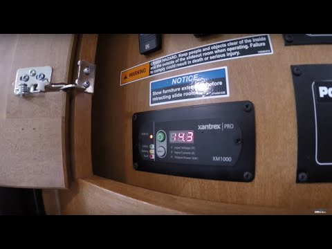 Winnebago Itasca Sunstar Xantrex Pro 1,000-Watt AC/DC Inverter Explained