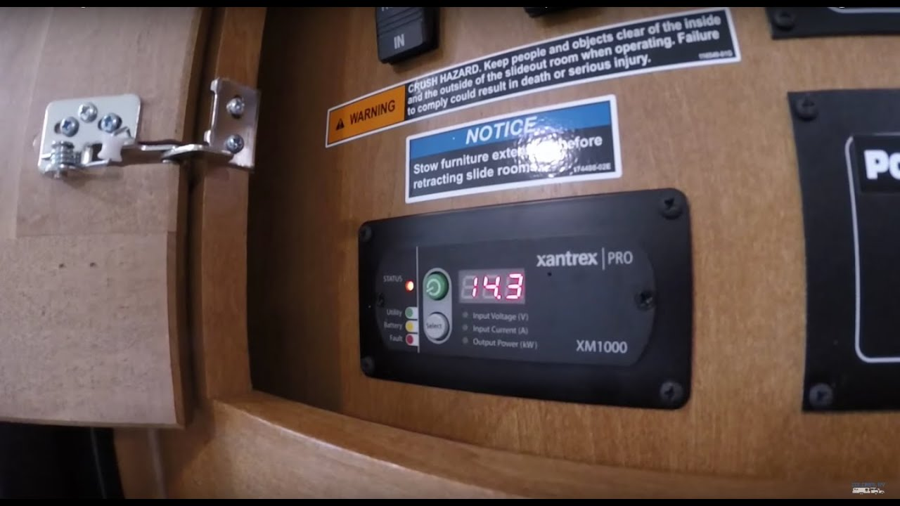 hight resolution of winnebago itasca sunstar xantrex pro 1 000 watt ac dc inverter explained