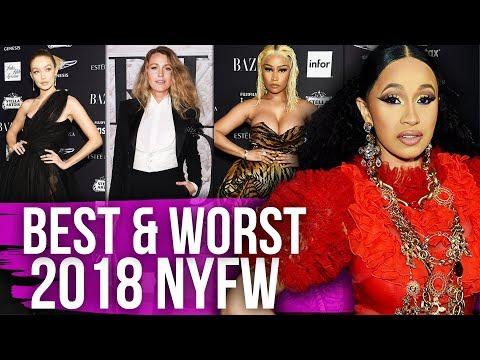 Best & Worst Dressed New York Fashion Week 2018 (Dirty Laundry)