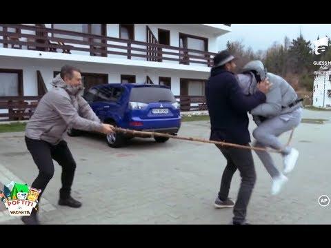 S-a urcat pe mașini de frică! Liviu Vârciu este lovit cu un par, fără milă