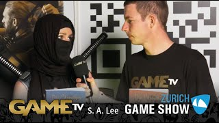 Game TV Schweiz - Interview mit S. A. Lee (Zürich Game Show)