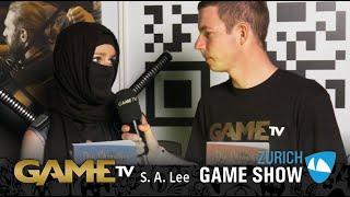 Game TV Schweiz - Interview mit S. A. Lee (Zürich Game Show)