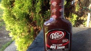 Dr Pepper Sweet & Kickin' Bbq Sauce Review