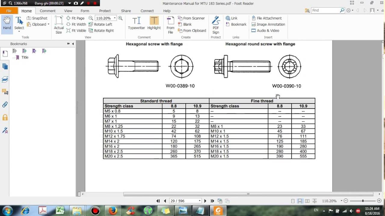 Maintenance Manual for MTU 183 Series - DHTauto com - YouTube