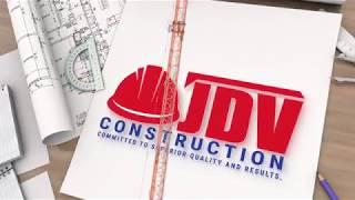 JDV Construction logo animation by Heavy Graphics Marketing
