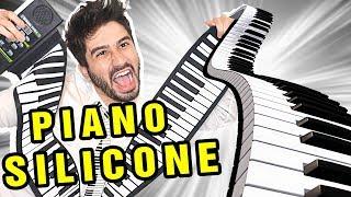 TESTANDO O PIANO DE SILICONE (mole e flexível)