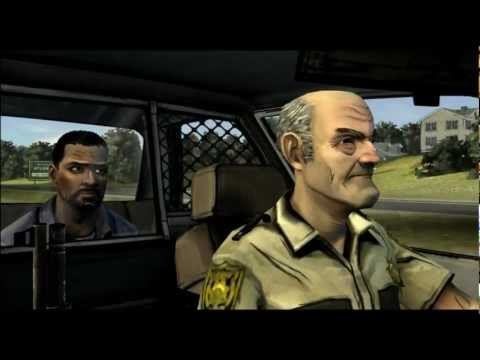 The Walking Dead Game Zombie Cop Gets Mind Blown Youtube