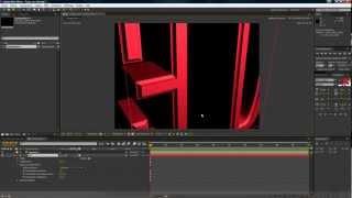 Tuto After Effects CS6, les nouveautés: Les textes 3D thumbnail