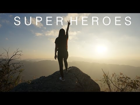 SUPERHEROES - THE SCRIPT | COVER | JENNIE LALRUATFELI | llJennRaltell