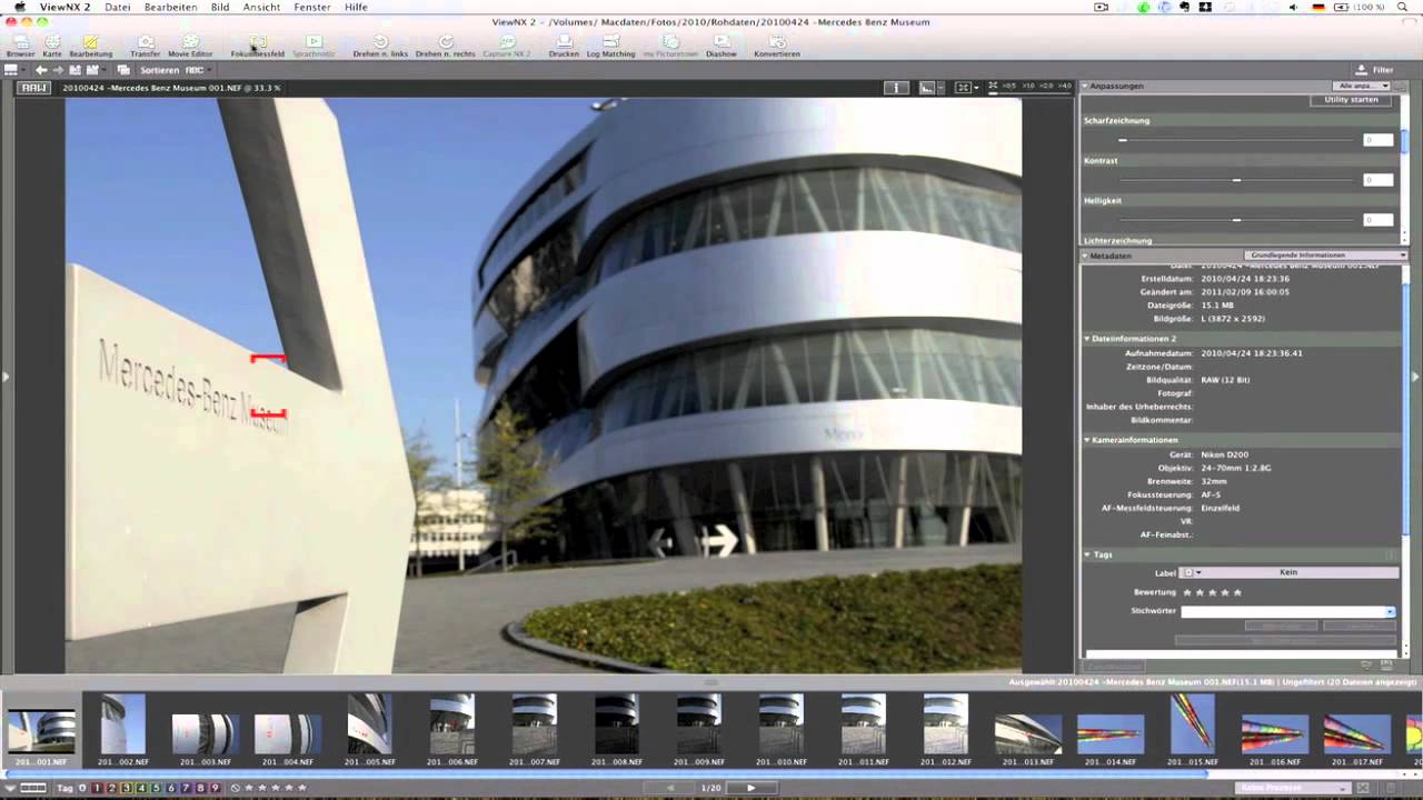 how to use nikon view nx2