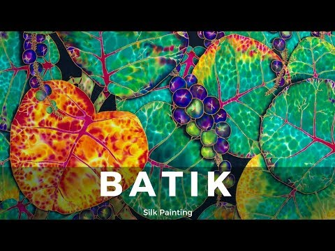 Basic Silk Painting Techniques - Fine Art Tips