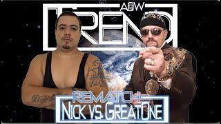 Elite Contender's FInals Rematch: Nick Quinones vs. Scott Chambers (AOW: Trend)
