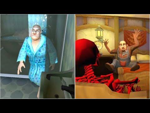Scary Teacher Hair Prank And Scary Neighbor Skeleton Prank