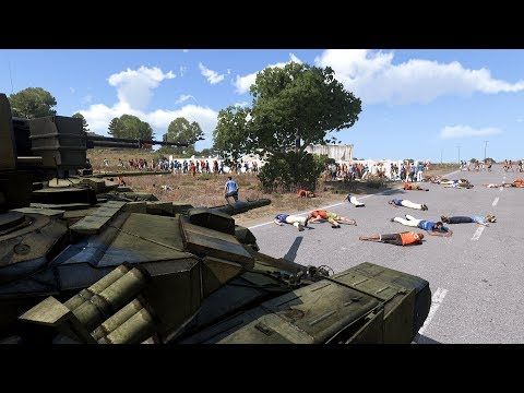 Arma 3: Russo-Zombie war ( Russian army vs zombies )
