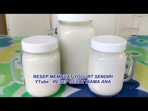CARA MEMBUAT YOGURT SENDIRI MODAL 24  RIBU JADI 97  RIBU