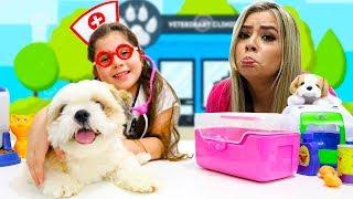 Heloísa Finge ser Médica Veterinária e Salva o Cachorrinho