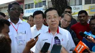 Guan Eng: We are still behind in Teluk Intan