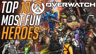 Overwatch: Top 10 Most Fun Heroes To Play