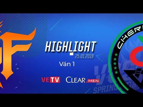 FFQ vs CR Highlight [VCS Mùa Xuân 2019][25.01.2019][Ván 1]