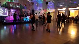 Eurodance weekend June 2018 - social dancing Bamber Ballroom