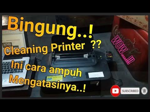 Cara Memperbaiki Servis Printer Cartridge Tinta Tidak Keluar Canon IP 2770 dan Semua Tipe.