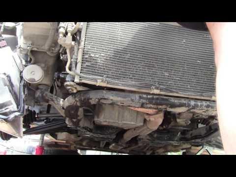 Замена радиатора Opel Astra H