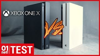 TEST Xbox One X : ce qu'elle vaut par rapport à la Xbox One S