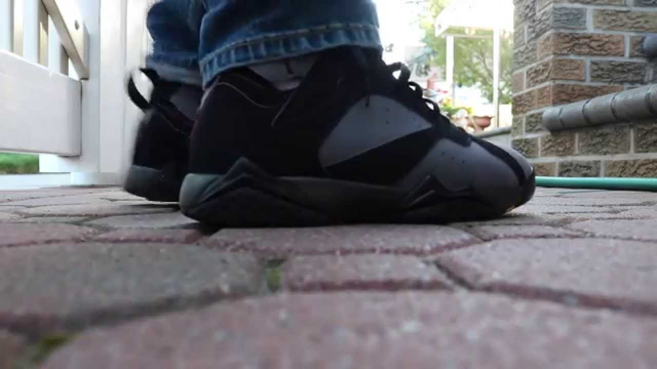 8fb6c9b05383 Air Jordan 7  bordeaux  2015 Review   On Feet - YouTube