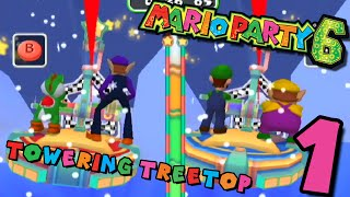 Mario Party 6 - Towering Treetop - Part 1