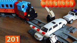 Машинки Мультики про Паровозики Лимузин Город машинок 201 серия Мультики для детей игрушки mirglory