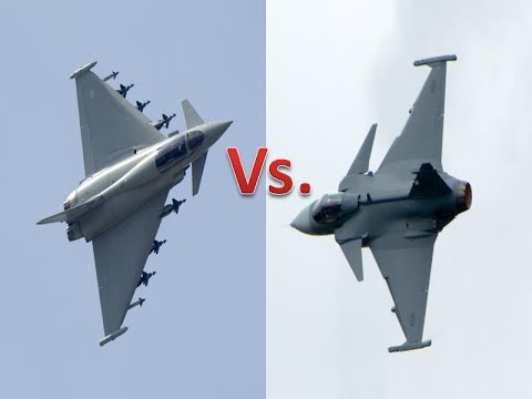 Eurofighter Typhoon vs Saab JAS-39 Gripen