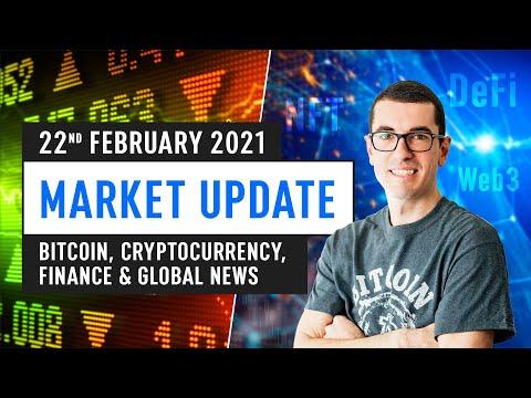 Bitcoin, Ethereum, DeFi & Global Finance News – February 22nd 2021