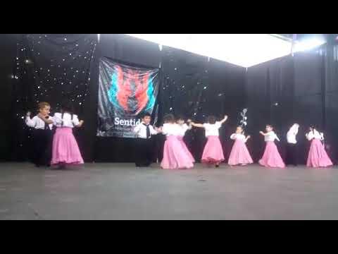 Ballet  Raíz  del Alma.  Iniciación a la danza folclórica. Prof Luis  Orellano.