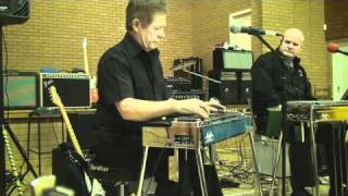 Derek Thurlby on pedal steel guitar