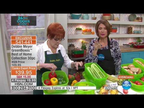 HSN | HSN Cooks Event featuring Debbie Meyer 04.19.2017 - 09 AM