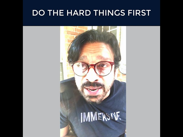 You Can Do The Hard Things