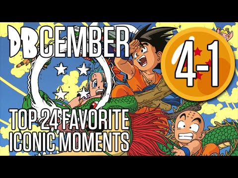 DBcember: Top Iconic Moments in Dragonball: 4-1