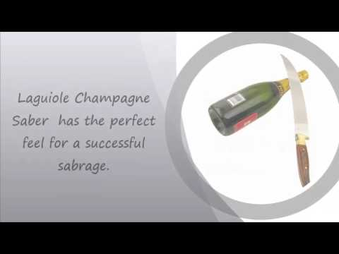 Most Affordable Champagne Saber | Laguiole La Roque