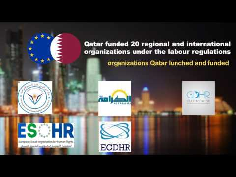 Human Rights groups..Qatar's arms to spread chaos in Arab countries