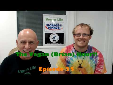 2017 Vegan Hour Ep 25 with animal rights activist Brian Hall