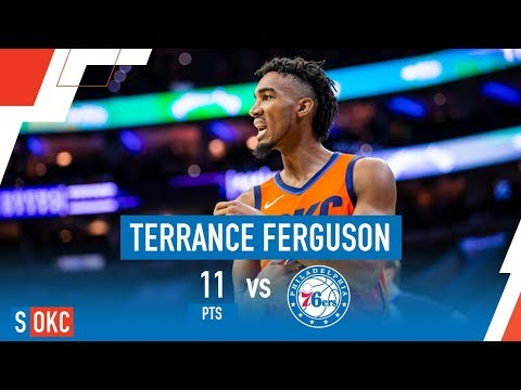 Terrance Ferguson's Clutch 3 Along With 11 Points vs Sixers | January 19th, 2019