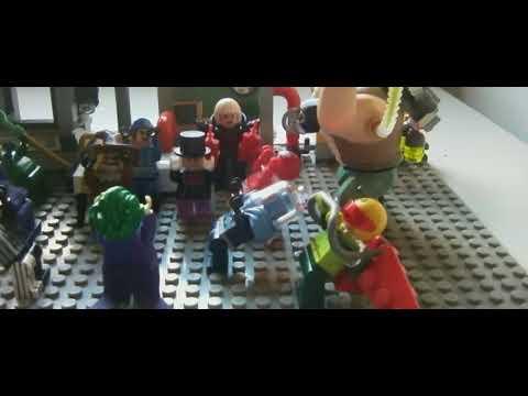 Animation Arts LEGO® - Lego Batman™ and Robin™ return