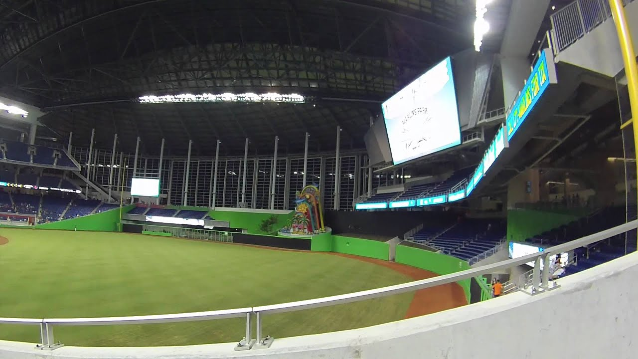 the new marlins park - youtube
