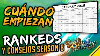 ¿Cuándo EMPIEZAN LAS RANKEDS SEASON 8? Consejos para ranked | Noticias League Of Legends LoL