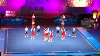 チアリーディング 2013 世界大会 女子