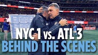 BEHIND THE SCENES | NYCFC vs. Atlanta United | 11.11.18