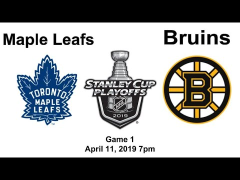 Toronto Maple Leafs Vs Boston Bruins Game 1 Live Reaction + Chat