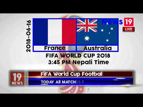 FIFA World Cup Today Matches And The Free Live Stream Site On The Description