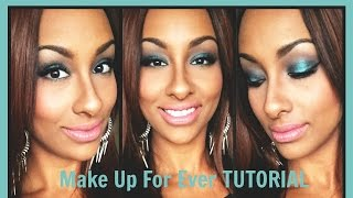 Tutorial: Make Up For Ever Artist Palette Volume 2 – Artistic