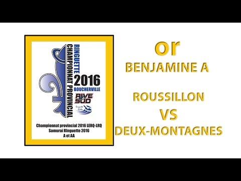*OR* BENJAMINE A - Championnat Provincial